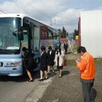 H28年度 入学式バス